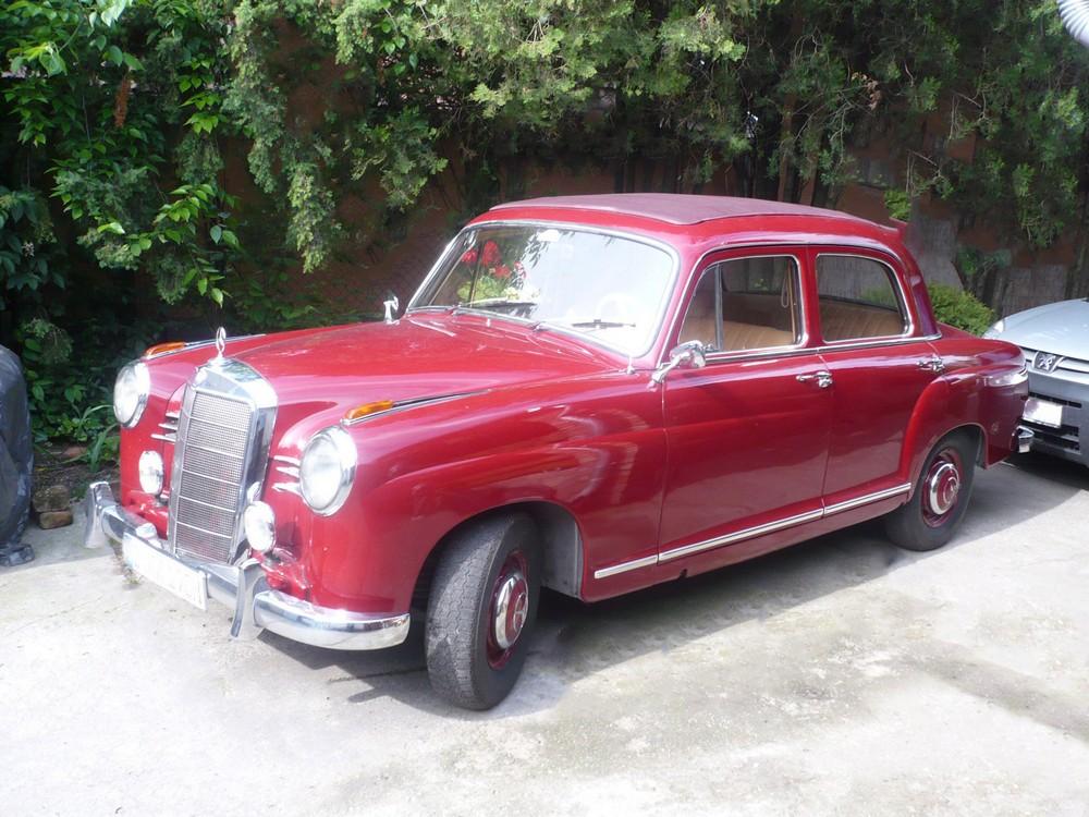 Mercedes D 190 ponton