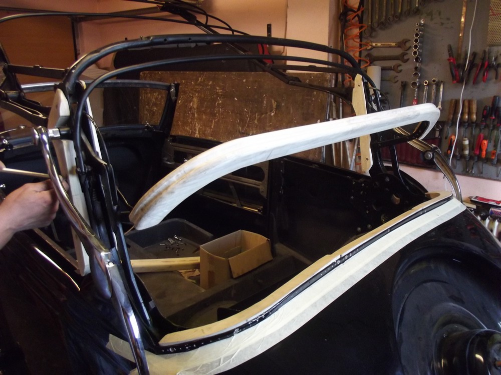 Mercedes V170 Cabriotető