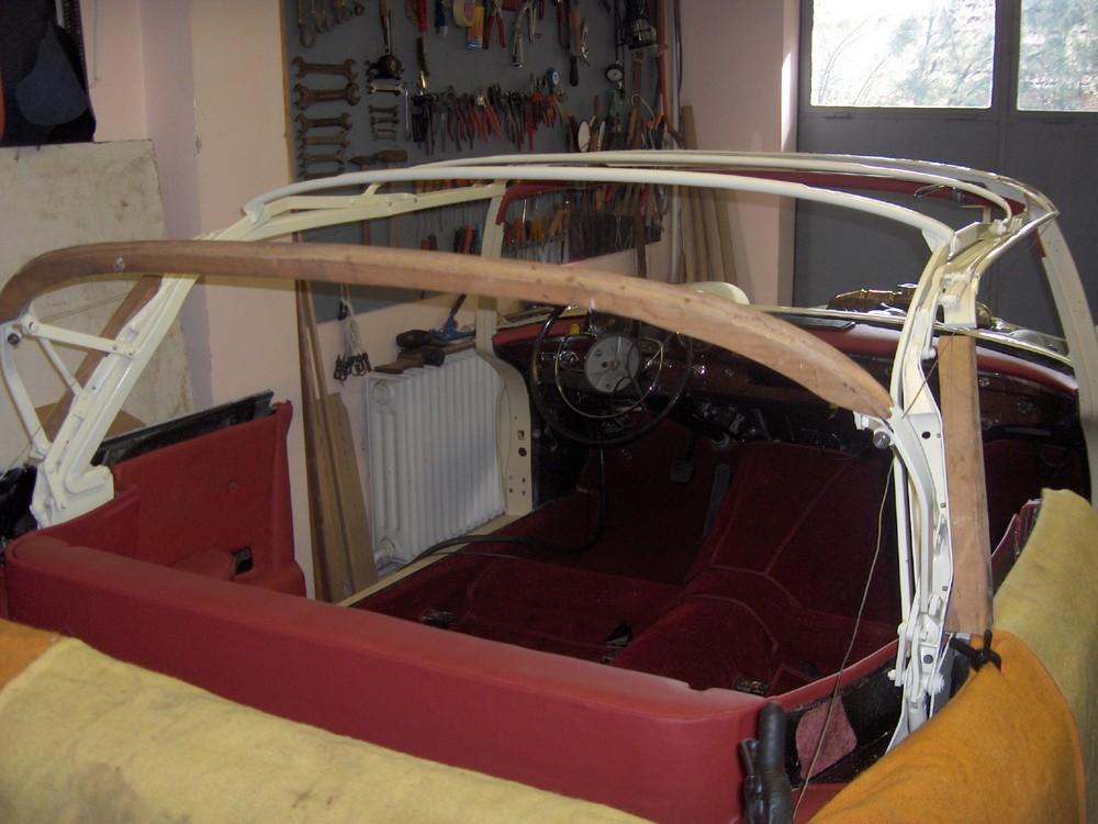 Mercedes W 111 220 SE Cabrio