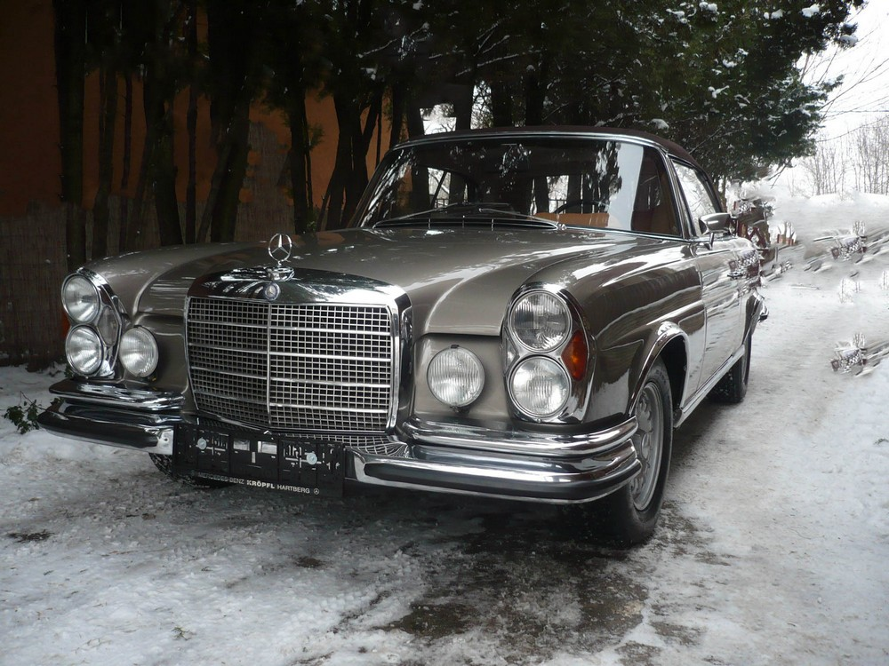 Mercedes W111 280SE Cabrio