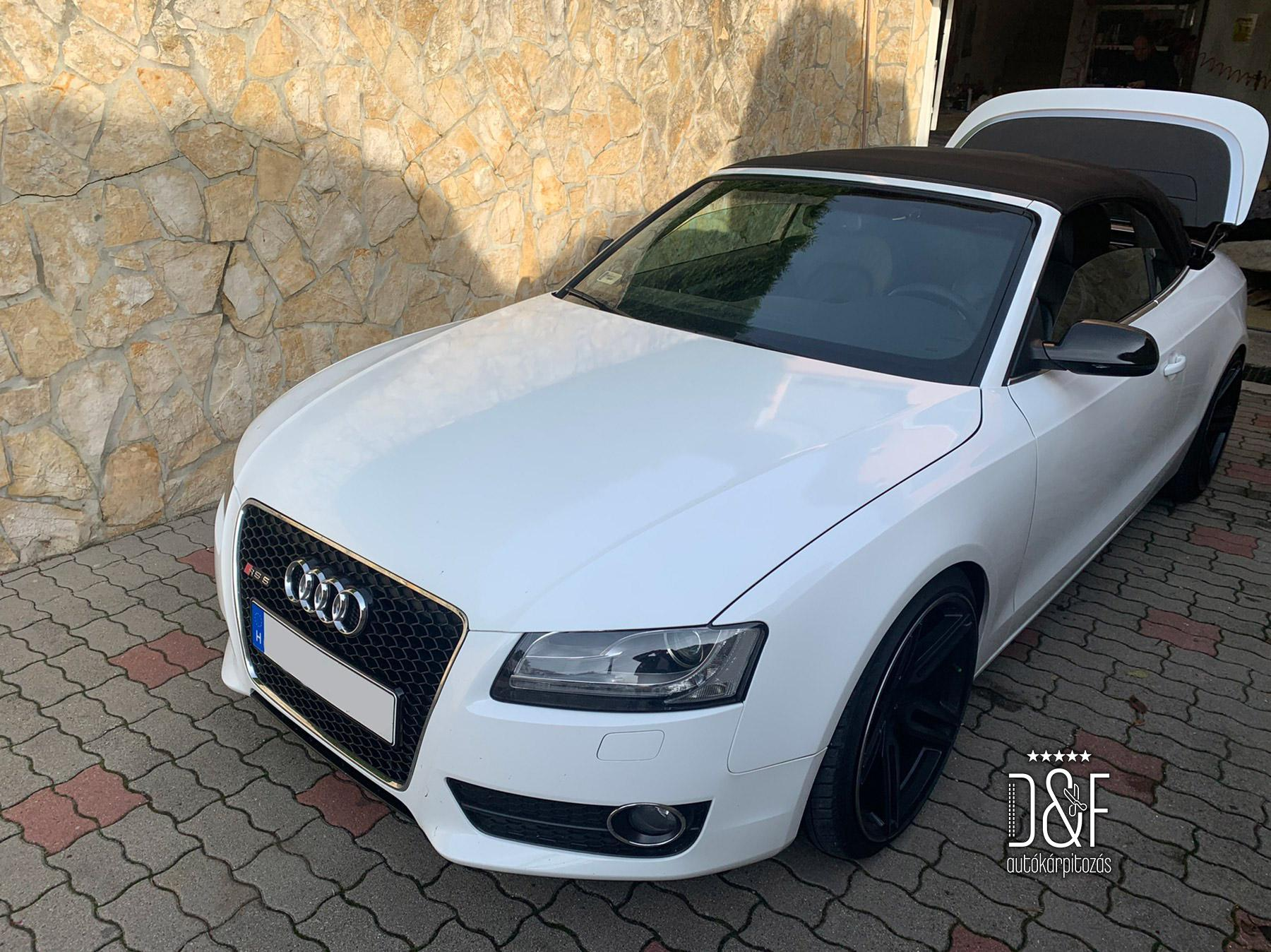 Audi RS5 Carbrió tető