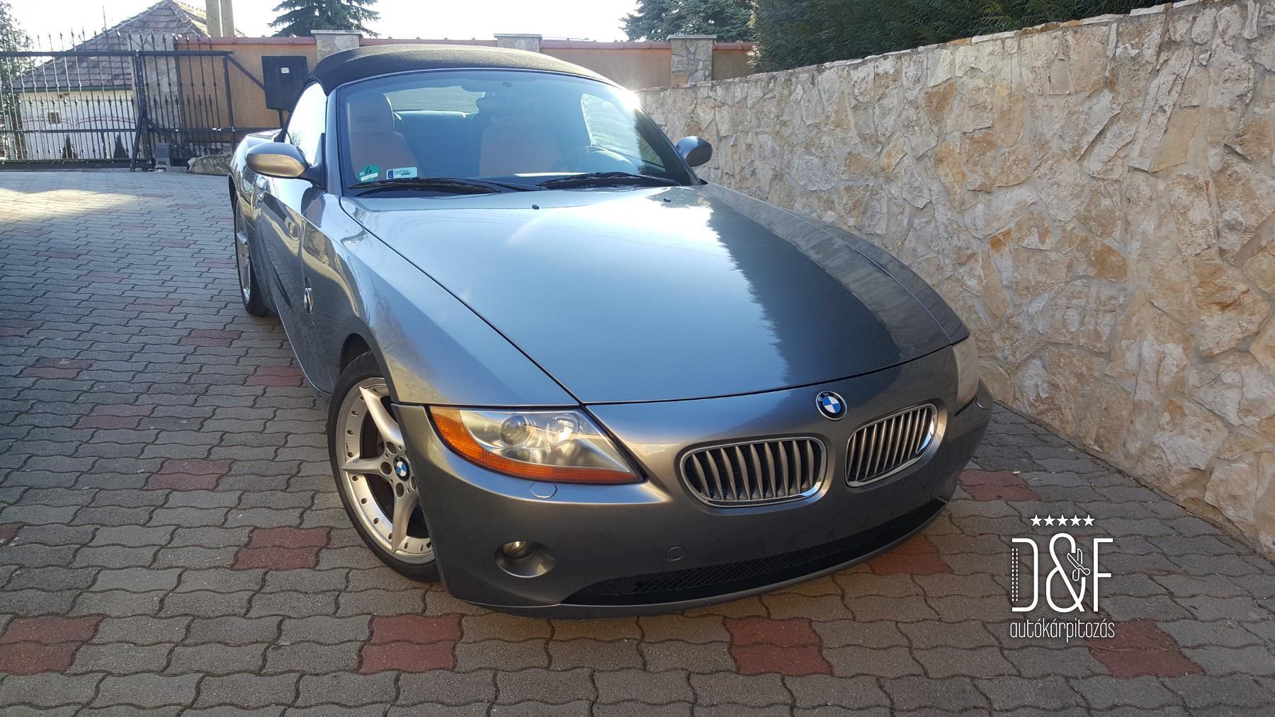 BMW Z4 belső kárpitozás