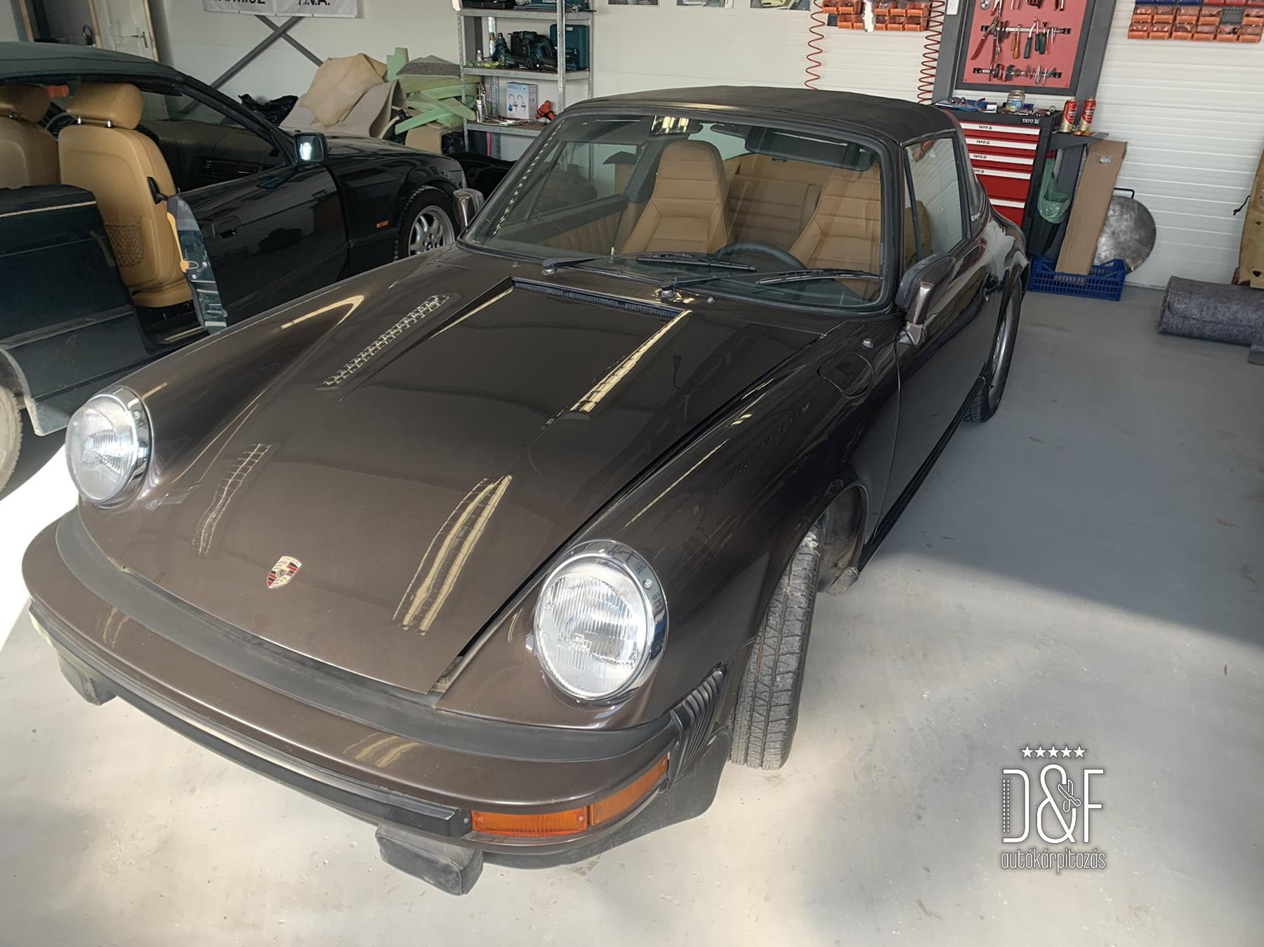 Porsche 911 komplett belső kárpitozás